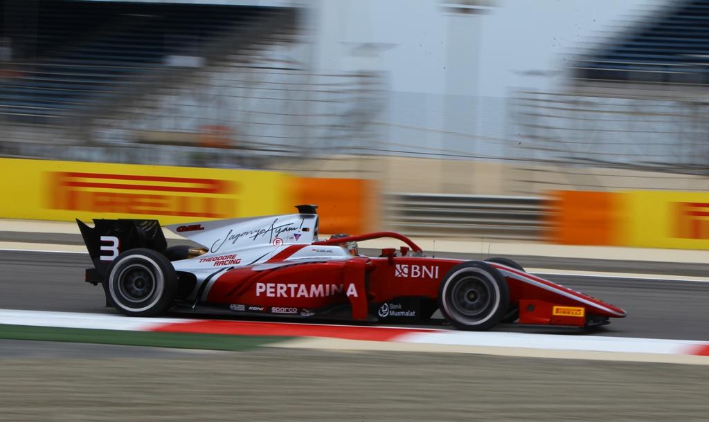 FIA F2 Free Practice - Sakhir, Bahrain