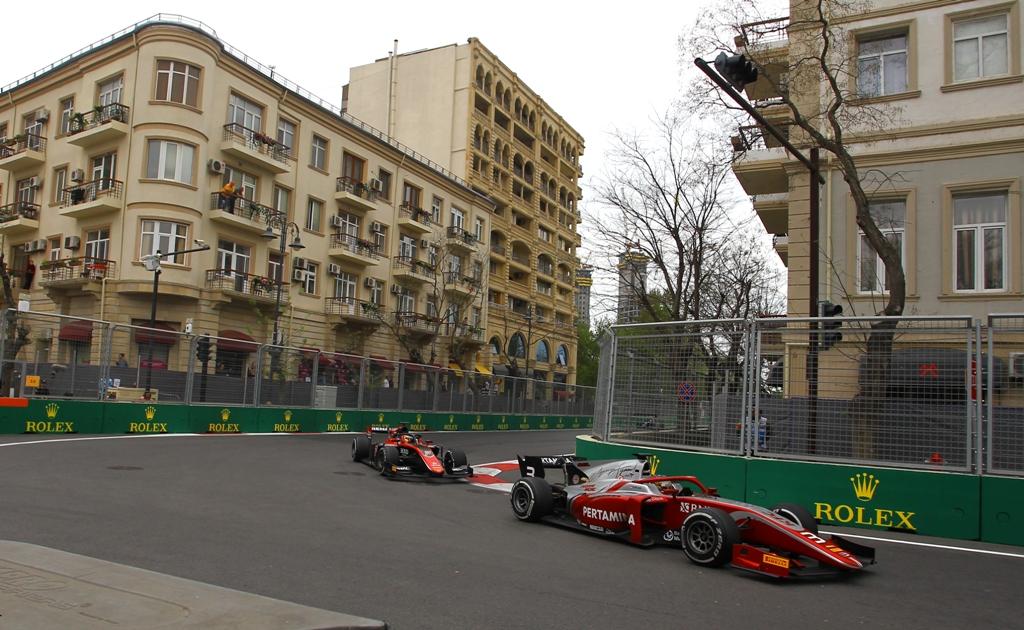 FIA F2 Race - Baku, Azerbaijan