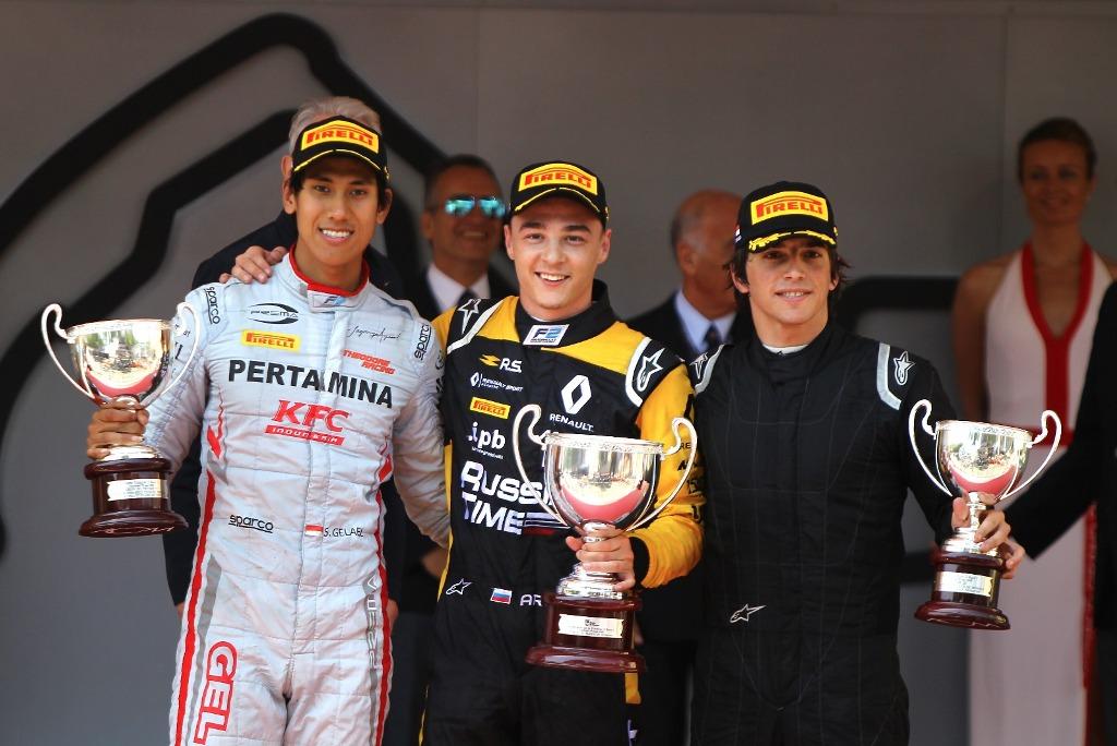 Sean Gelael meraih podium pertamanya pada GP Monaco