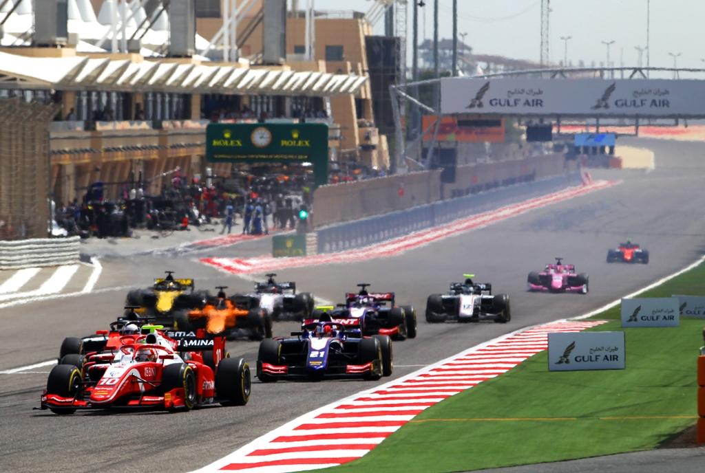 RACE - FORMULA 2 2019: SAKHIR - BAHRAIN