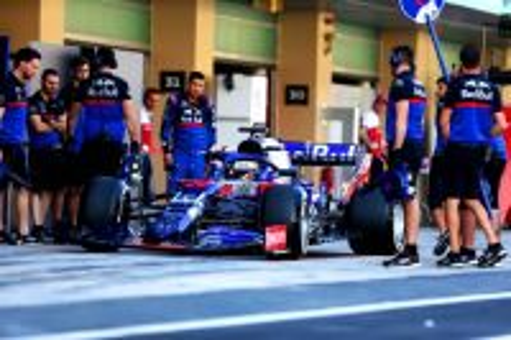 Sean Gelael Tes F1 di Abu Dhabi
