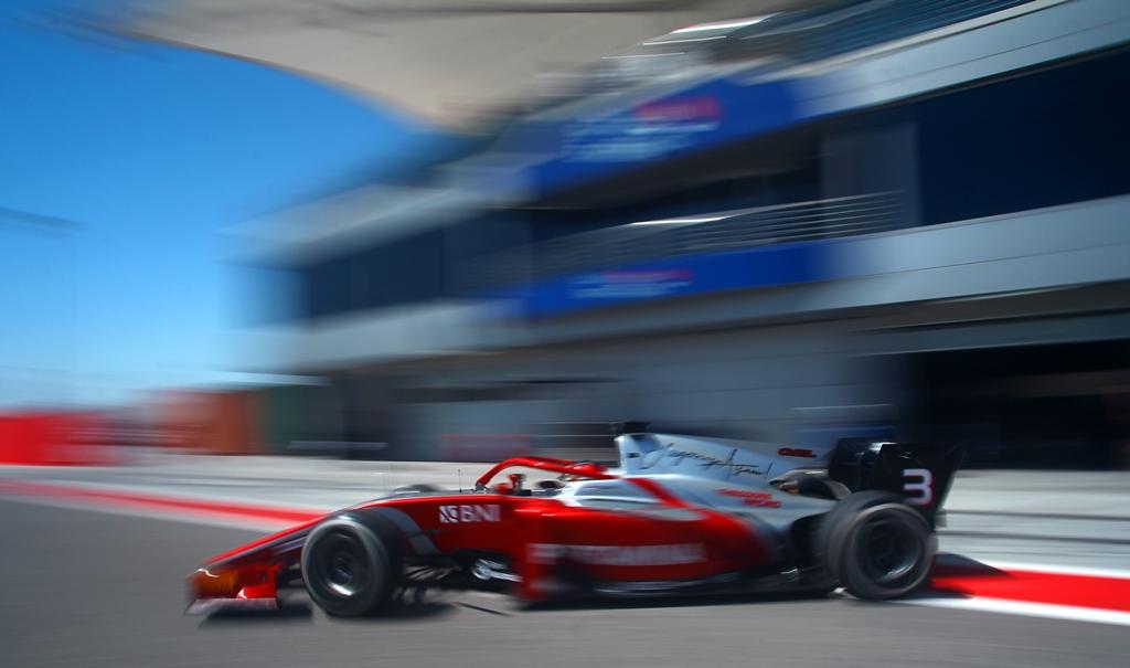 Sean Gelael - Bahrain Test (MetroTV - Metro Siang)