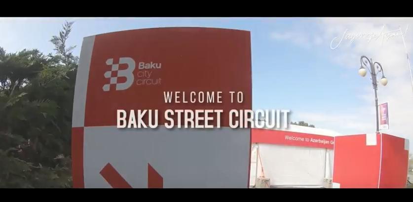BAKU CITY STREET CIRCUIT, AZERBAIJAN
