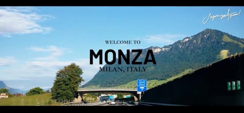 Italian GP : Monza. City Tour Video
