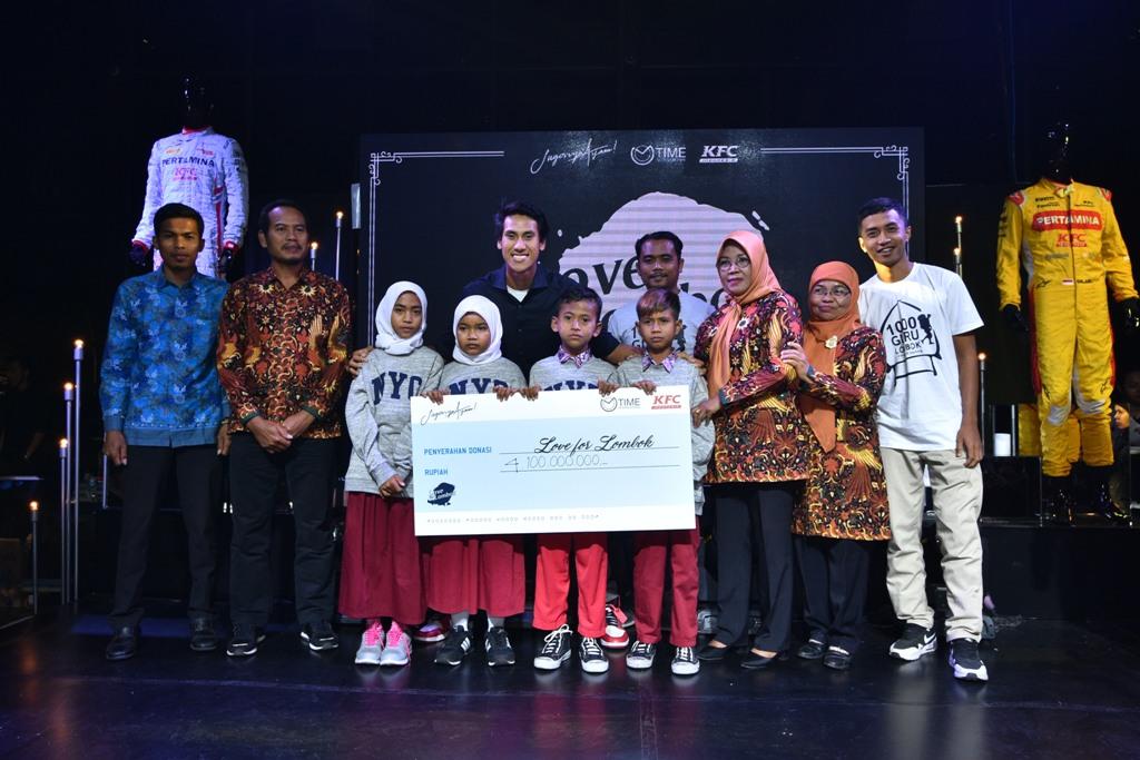 Sean Galang Dana untuk Bantu Korban Gempa Lombok