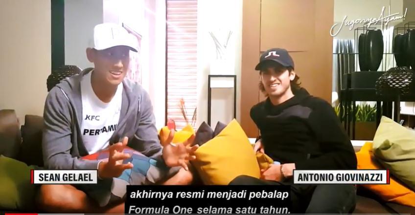Boys Talk: Sean Gelael and Antonio Giovinazzi