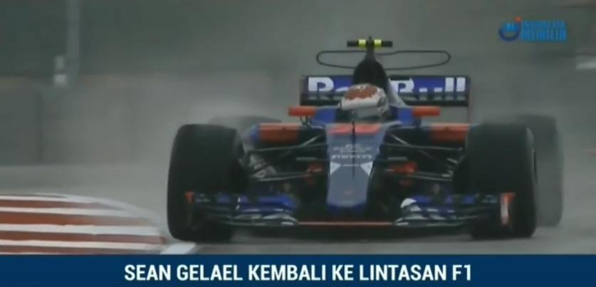 Sean Kembali ke Lintasan F1