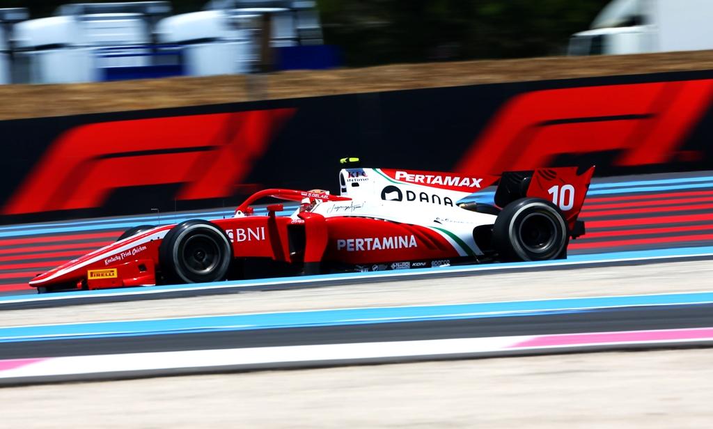 Sean Gelael F2 GP Prancis 2019