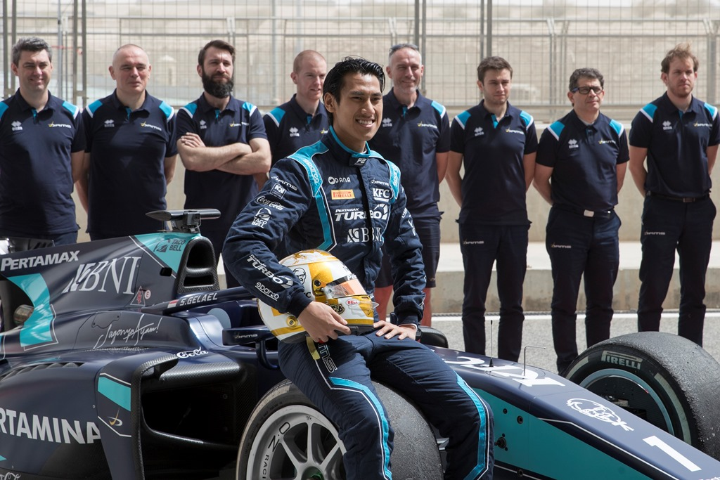 Sean bersiap melakoni seri perdana F2 2020 di Sirkuit Red Bull Ring, Austria.