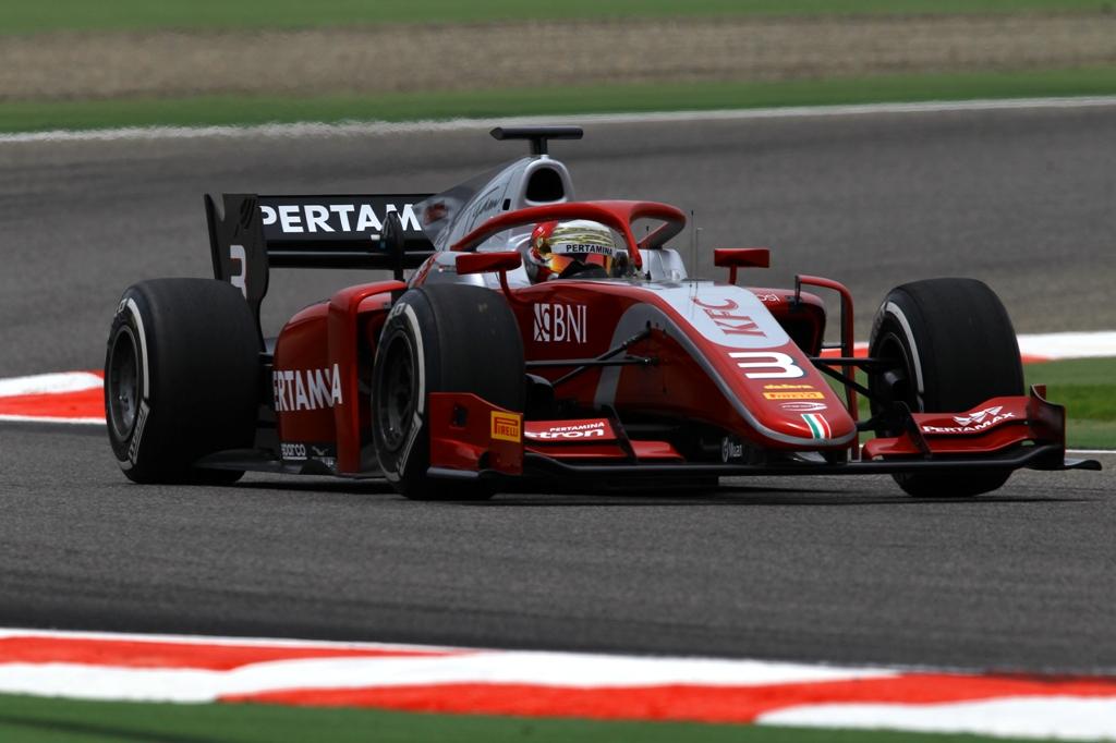 FIA F2 FREE PRACTICE - BAHRAIN