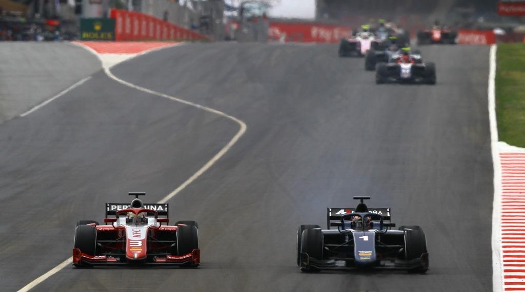 FIA F2 Race - Catalunya, Barcelona