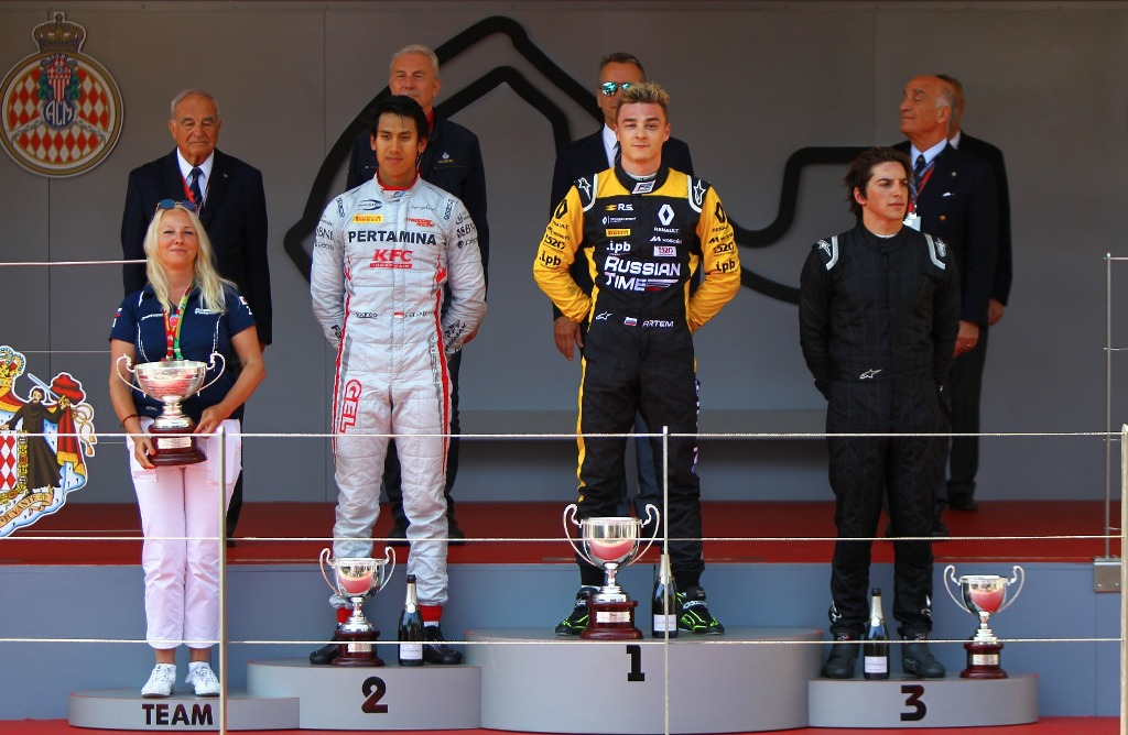 Sean Raih Podium 2 di Feature Race GP Monaco