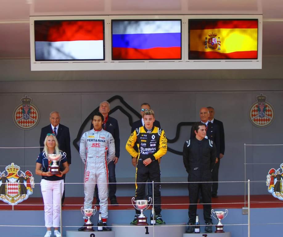 GP Monaco: Sean Naik Podium