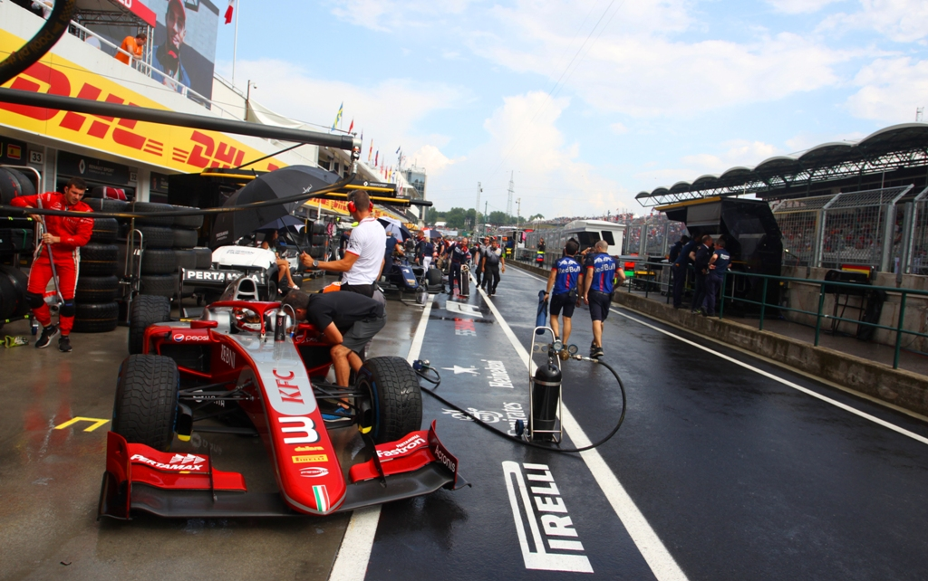 RACE - F2 GP HUNGARORING, HONGARIA