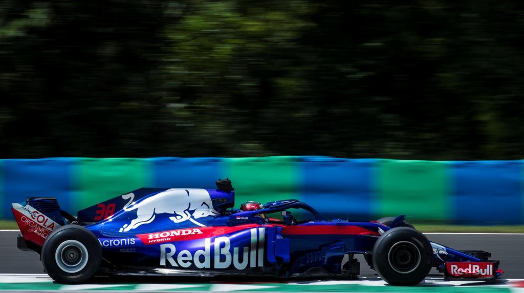 F1 Testing - Budapest, Hungary