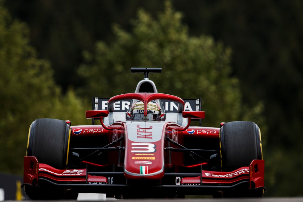 PRACTICE & QUALIFICATION - F2 GP SPA-FRANCORCHAMPS - BELGIUM