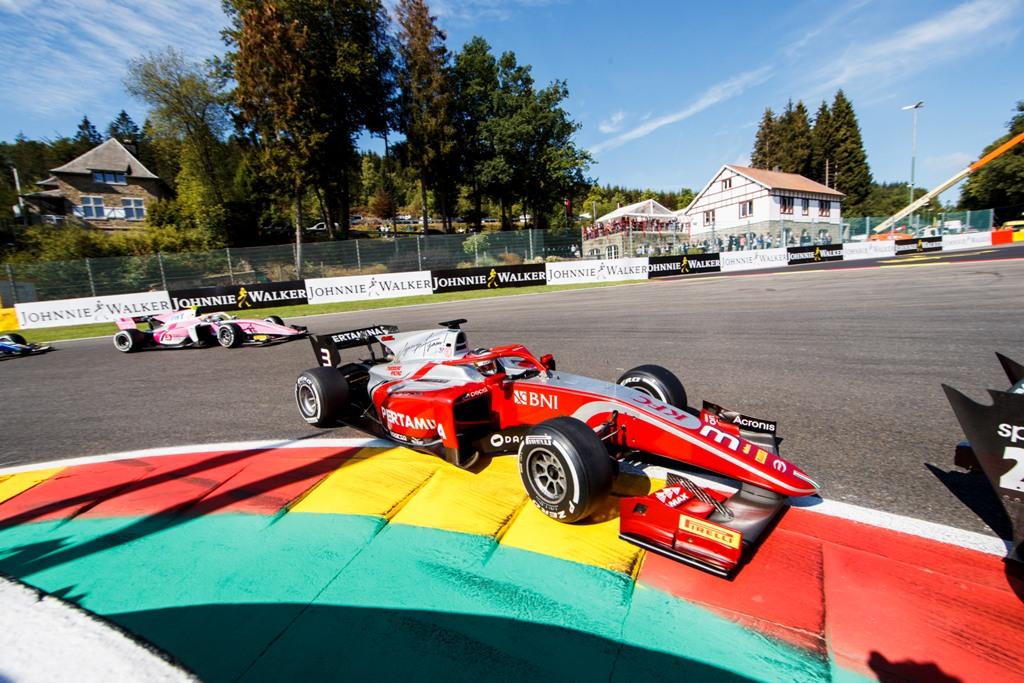 RACE - F2 GP SPA-FRANCORCHAMPS - BELGIUM