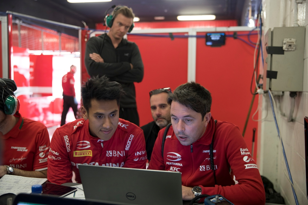 PREMA F2 PRE SEASON TEST - BARCELONA (DAY 1)