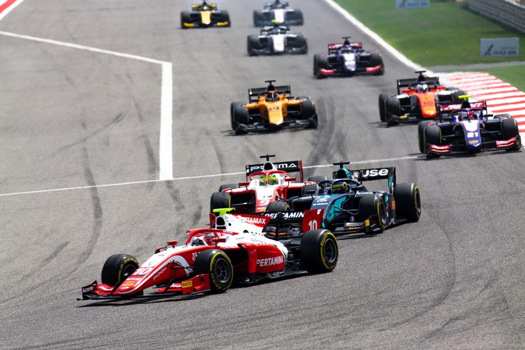 FORMULA 2 RACE 2019: SAKHIR - BAHRAIN