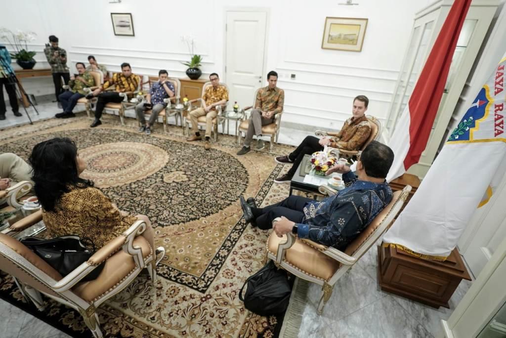 SEAN & STOFFEL BERTEMU ANIES BASWEDAN MEMBAHAS FORMULA E JAKARTA