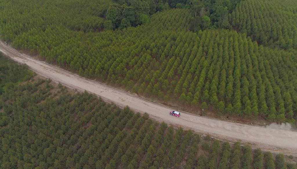 Sean Uji Coba Lintasan Reli di Parapat Sumatera Utara
